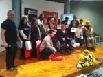 Entrega premios VIII concurso de tortillas de AMDAS