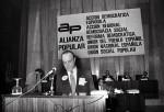Manuel Fraga en el I Congreso Nacional en el que se constituyó AP (Marzo 1977)