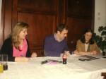 Marian Velasco nueva presidenta de NNGG Caso con Pablo Álvarez-Pire  y Reyes Hurle