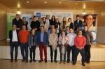 Integrantes de la candidatura del PP de Mieres junto con Mercedes Fernández.